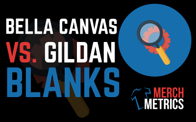 Bella Canvas Vs Gildan 64000