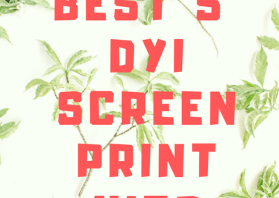 Best 5 Screen Print Kits