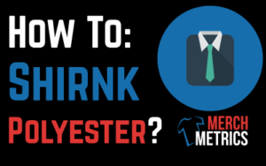How to Shrink polyester step by step